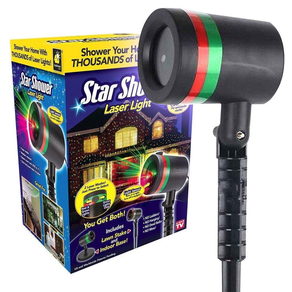 Star Shower Laser Light Projector